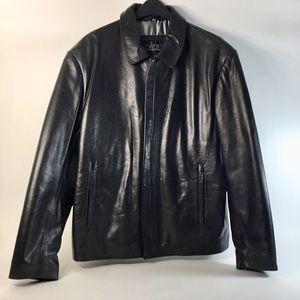 NWOT, Men's Modern-Style Leather Jacket